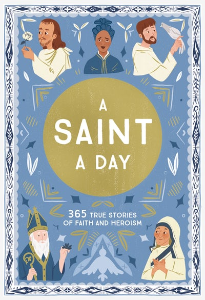 A Saint a day cover image